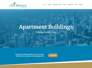 Nick Haddad Web Services Project First RelianceREIT